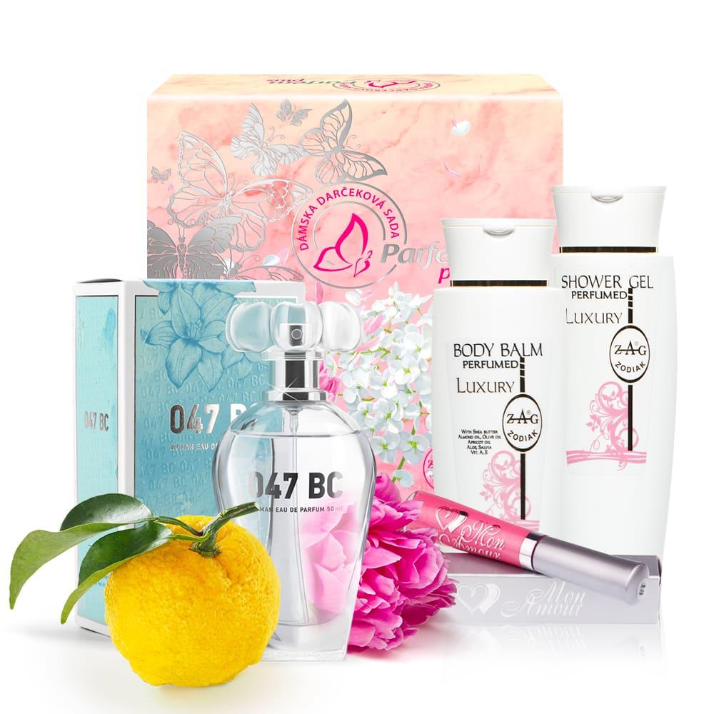 047 Dárkové balení (parfum, gel, balzam)