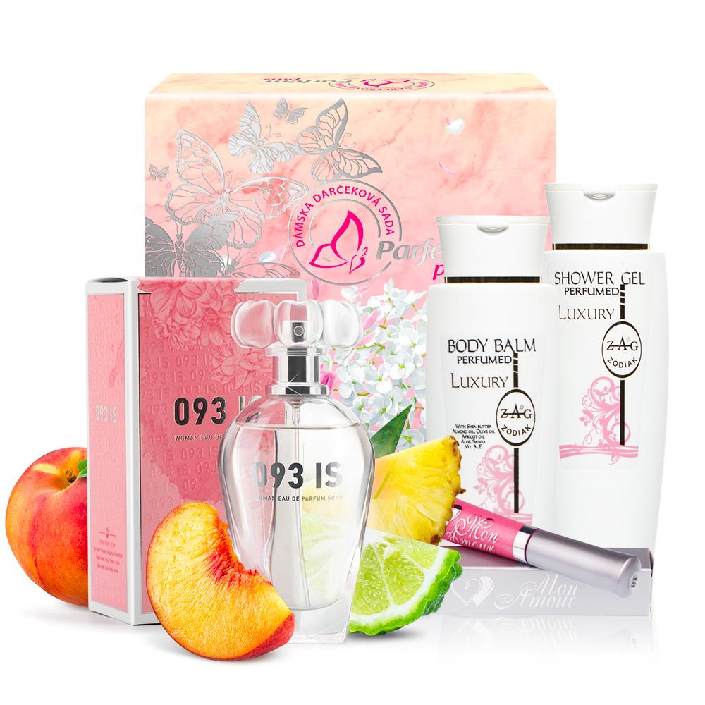 093 Dárkové balení (parfum, gel, balzam)